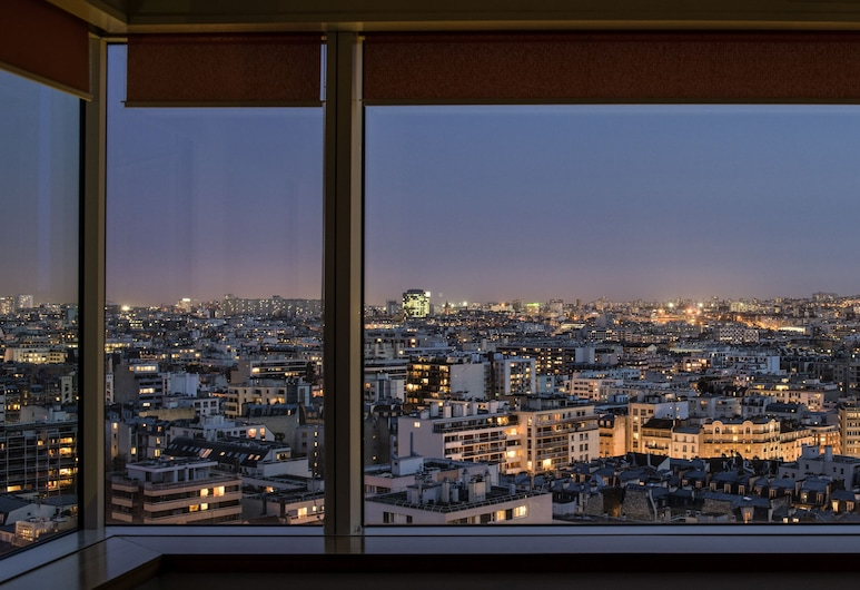 Aparthotel Adagio Paris Centre Tour Eiffel, Paris, Lägenhet Panoramic - 1 sovrum - utsikt mot staden, Utsikt från rummet