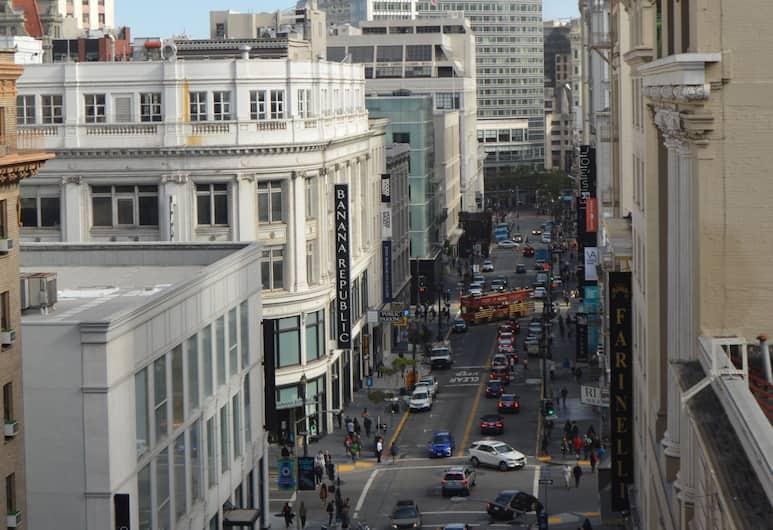 SF 廣場飯店, 舊金山, 豪華套房, 1 張加大雙人床, 城市景觀, 邊間, 城市景觀