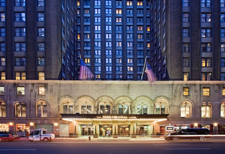 Park Central Hotel New York, New York, Hotellets indgang
