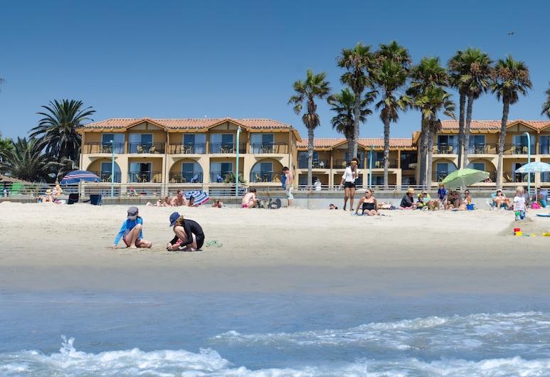 Ocean Park Inn, San Diego, Plaj