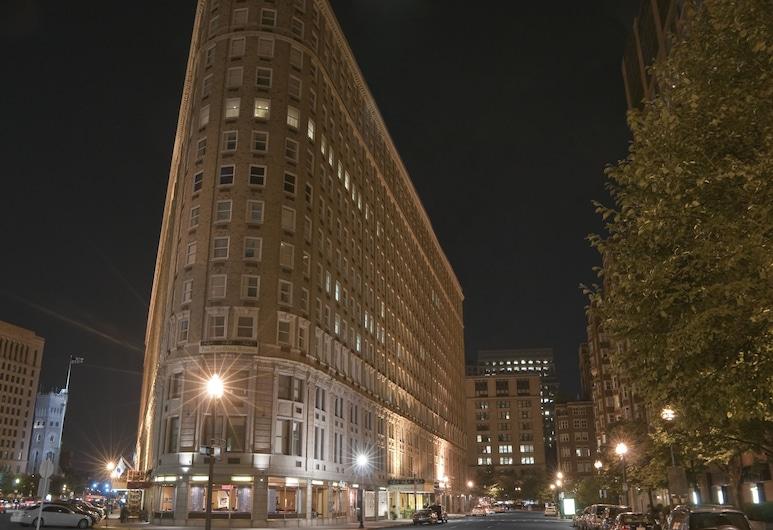 Boston Park Plaza, Μπόστον, Πρόσοψη ξενοδοχείου
