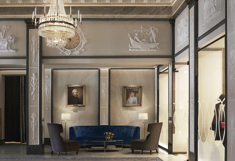 Grand Hôtel Stockholm, Estocolmo, Sala de estar en el lobby