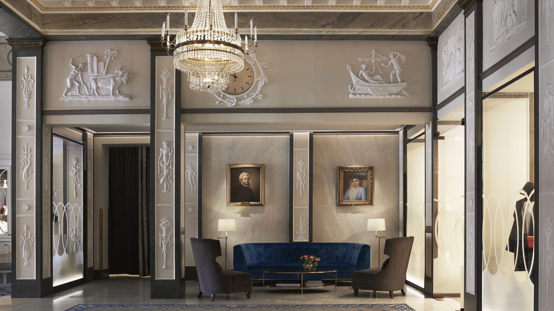 Grand Hôtel Stockholm, Stockholm, Sitteområde i lobbyen