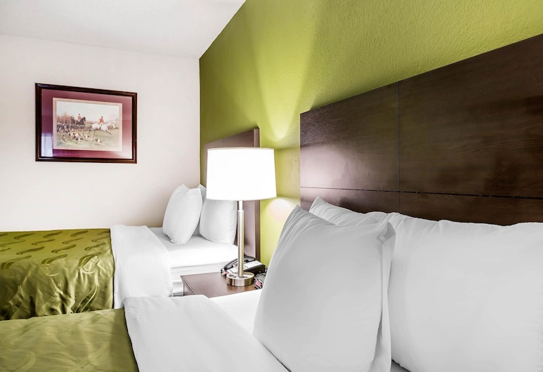 Quality Inn, Culpeper, Standard Room, 2 Double Beds, Non Smoking, Guest Room
