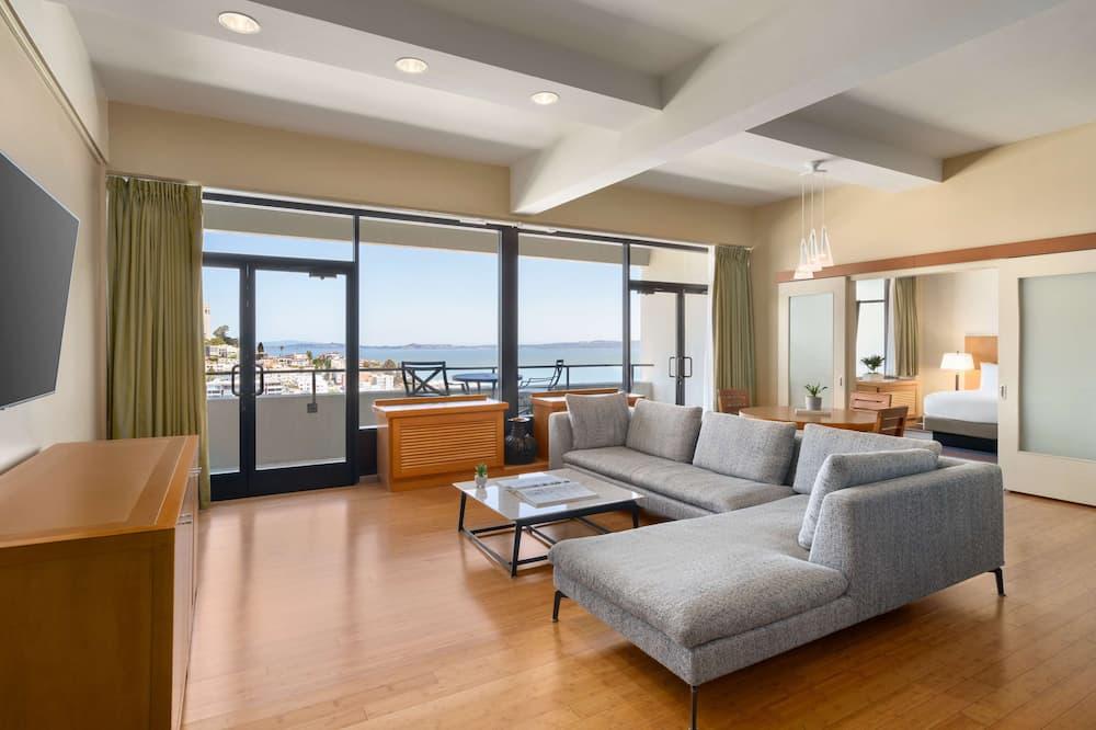 Apartament typu Suite, 1 sypialnia - Powierzchnia mieszkalna