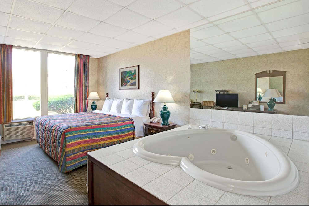 Studijas tipa luksusa numurs, 1 divguļamā karaļa gulta, nesmēķētājiem (Exterior Corridor) - Viesu numurs