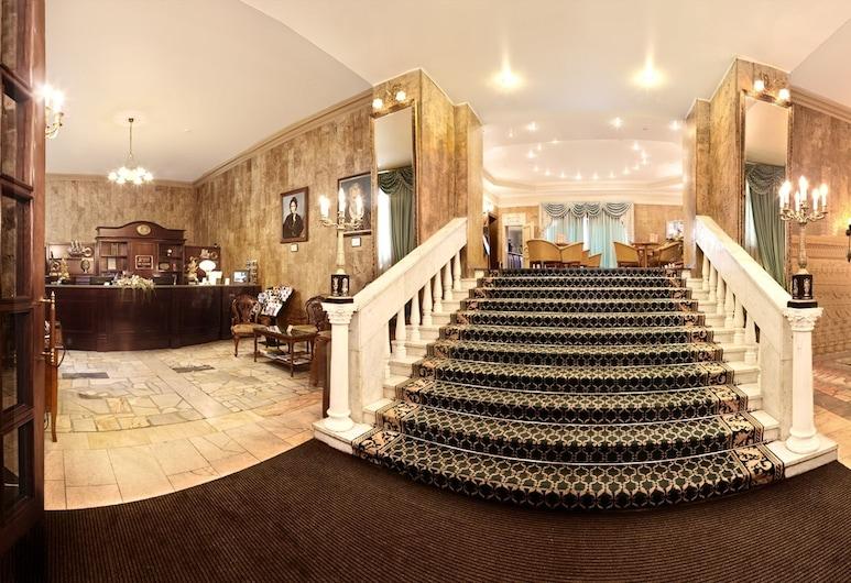 Marco Polo Presnja Hotel, Moscow, Lobby
