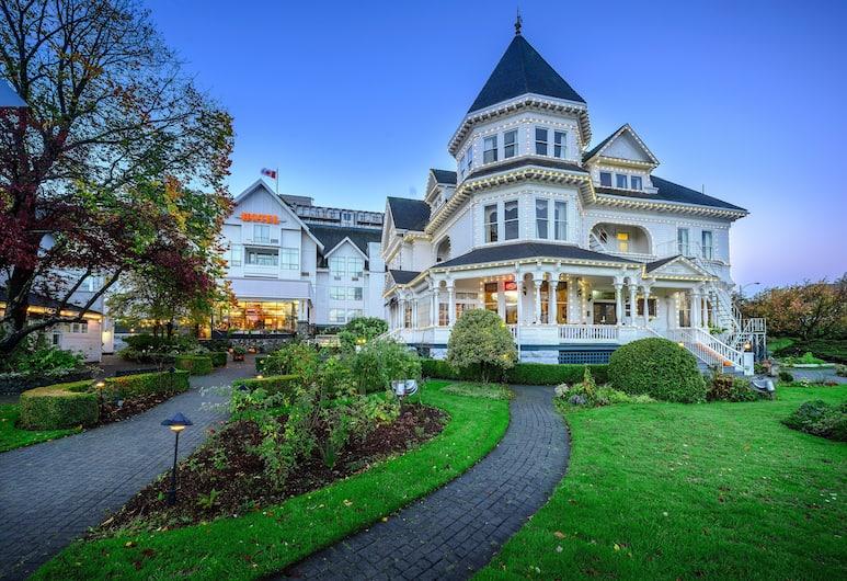 Huntingdon Manor Hotel, Victoria, Hotel homlokzata