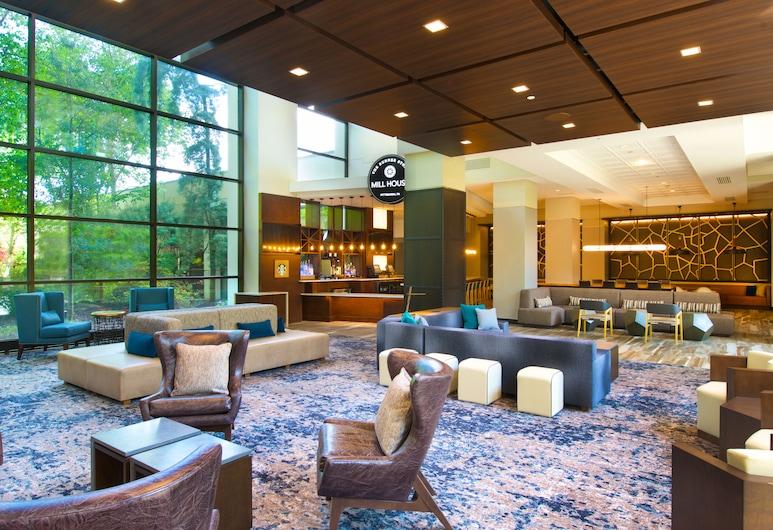 Pittsburgh Airport Marriott, Coraopolis, Siddeområde i lobby