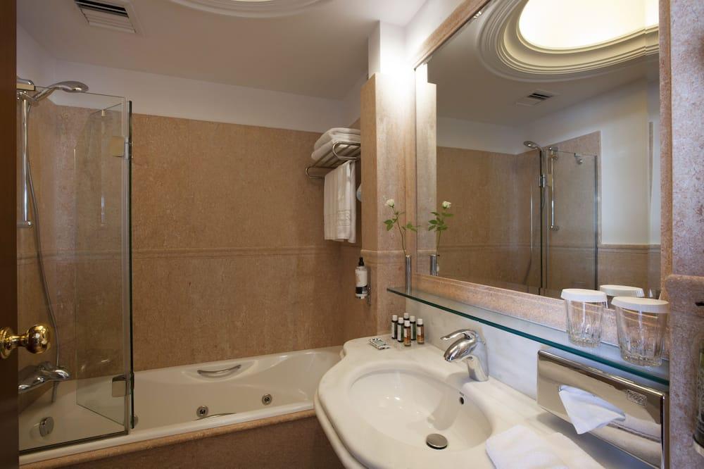 Classic-Einzelzimmer - Badezimmer