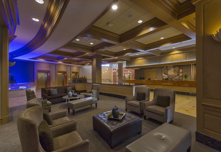 The San Luis Resort, Spa & Conference Center, Galveston, Sitzecke in der Lobby