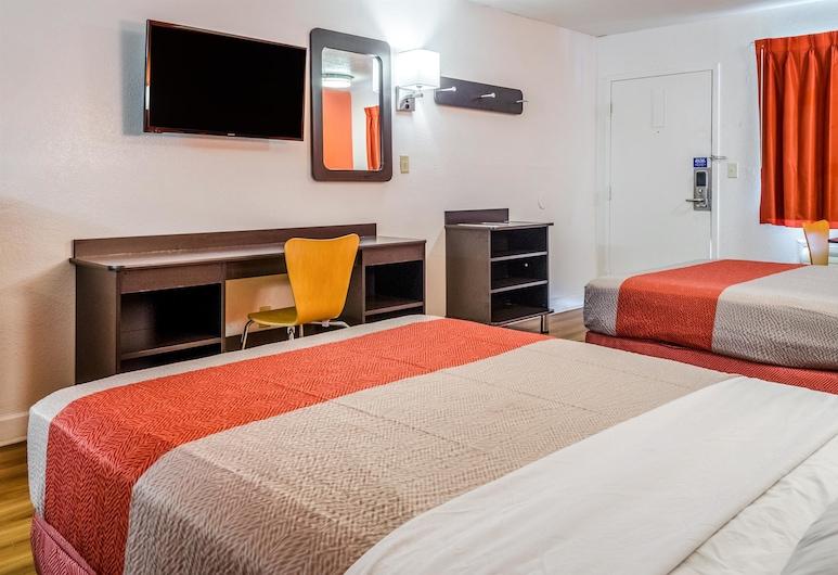 Motel 6 Saraland, AL, Saraland, Habitación estándar, 2 camas dobles, con acceso para silla de ruedas, para fumadores, Habitación