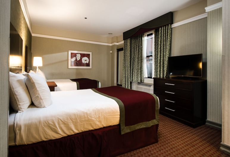 The Hotel @ Times Square, New York, Chambre, 2 lits doubles, Chambre