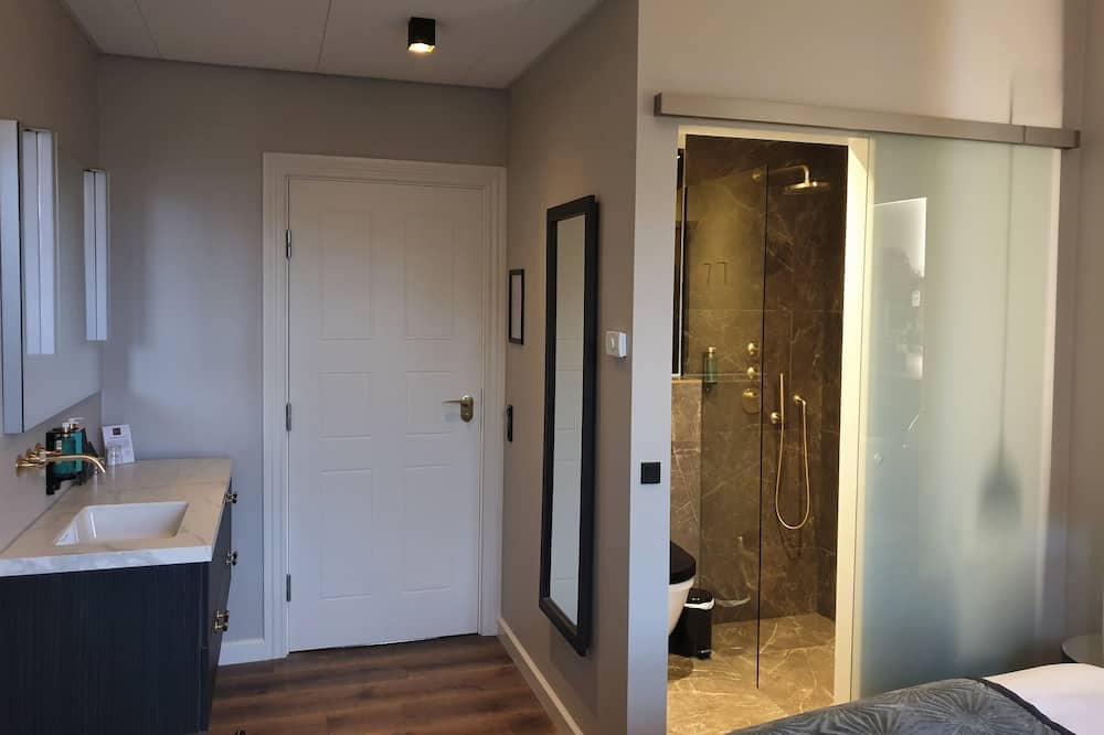 豪華雙人房, 1 張特大雙人床 - 浴室