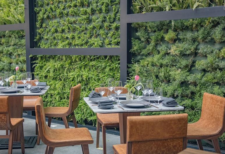 總統墨西哥城洲際酒店, 墨西哥城, 室外用餐