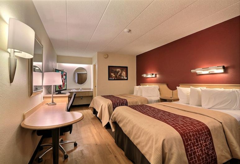 Red Roof Inn Washington DC - Laurel, Laurel, Standardzimmer, 2Doppelbetten (Smoke Free), Zimmer