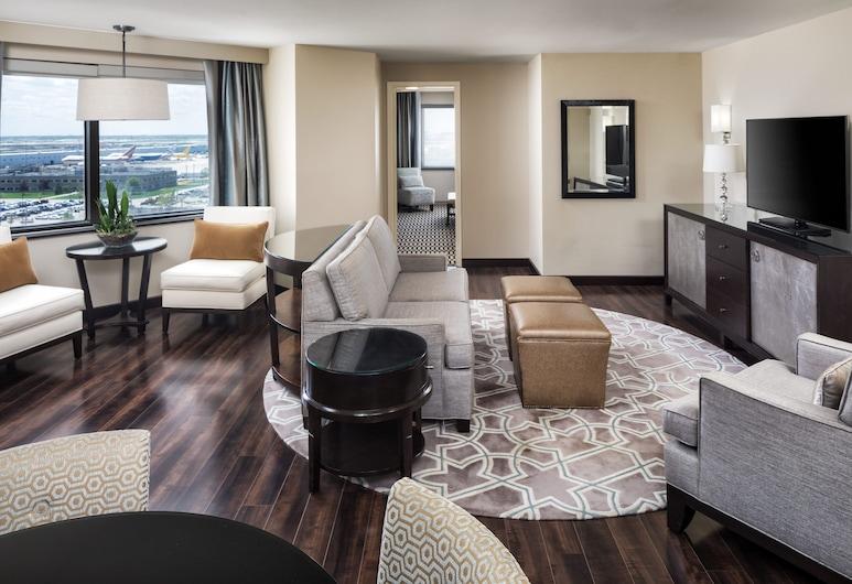 Sheraton Suites Chicago O'Hare , רוזמונט, חדר אורחים