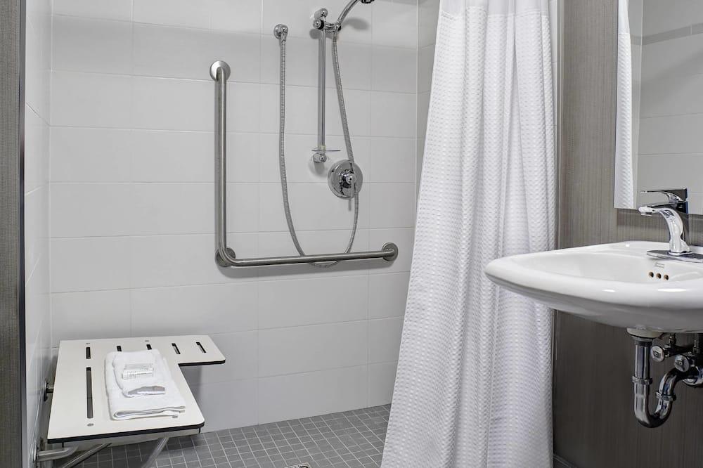 Chambre, 2 grands lits, non-fumeurs - Salle de bain