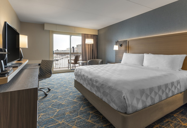 Holiday Inn Kingston Waterfront, Kingston, Room, 1 King Bed, Harbor View (Water View), Guest Room