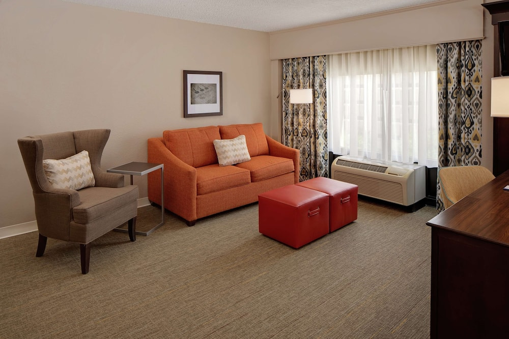 2 Room 1 Queen Bed Suite with Sofabed - Living Area