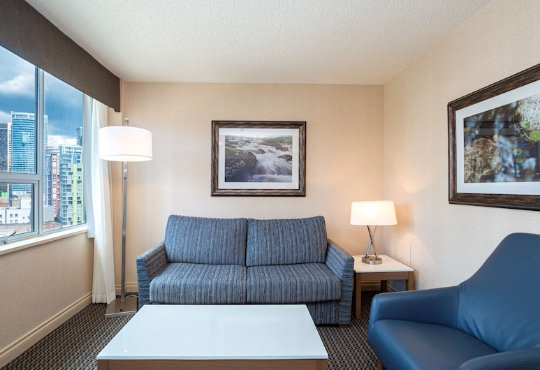 Best Western Premier Chateau Granville Hotel & Suites & Conf. Centre, Vancouver, Suite, 1 King Bed with Sofa bed, Non Smoking, Balcony (with Sofabed), Guest Room