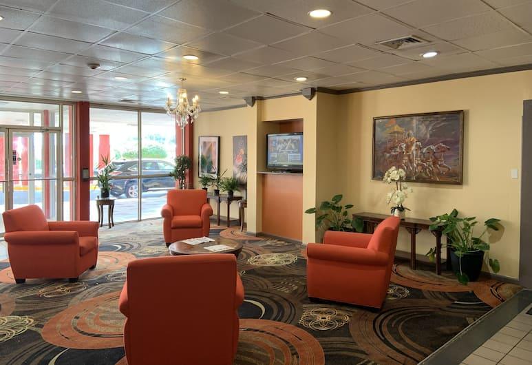 Hotel Memphis Oakville, Memphis, Sala de estar en el lobby