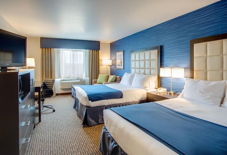 Holiday Inn Express Bellingham, Bellingham, Deluxe-rum - 2 queensize-sängar - icke-rökare, Gästrum