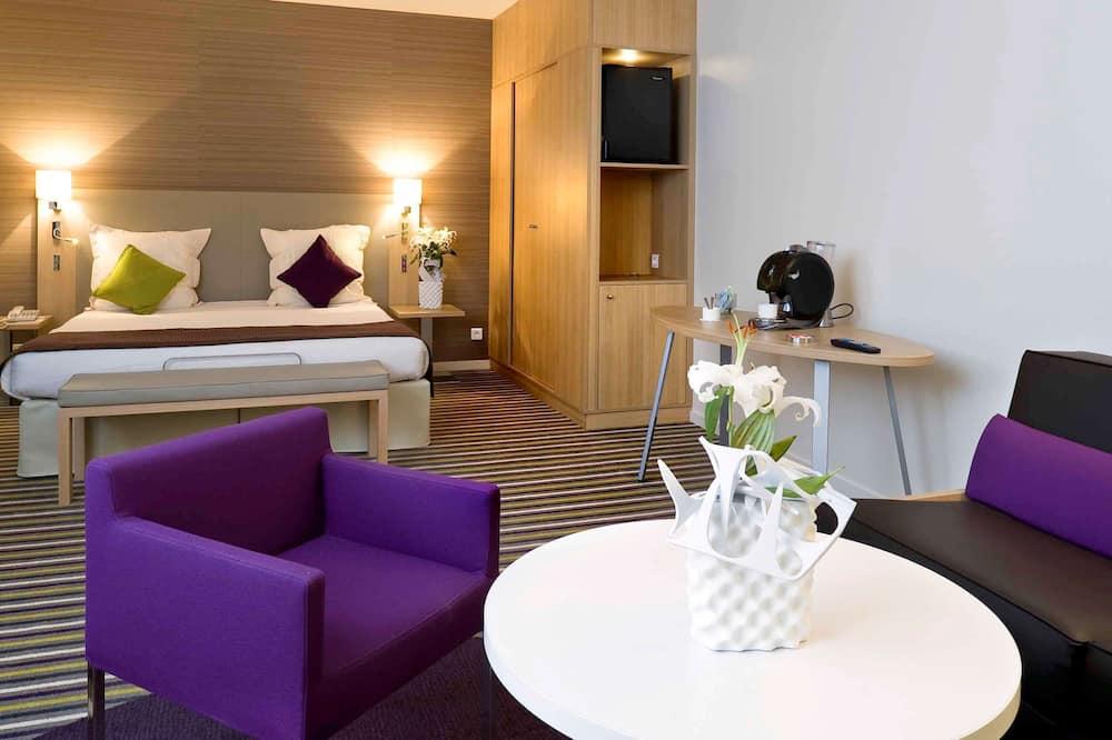Privilege, Premium tweepersoonskamer, 1 tweepersoonsbed met slaapbank - Kamer