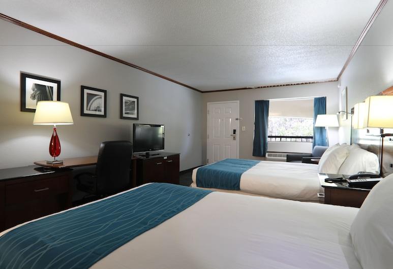 Rodeway Inn, Foley, Habitación estándar, 2 camas Queen size, para fumadores, Habitación
