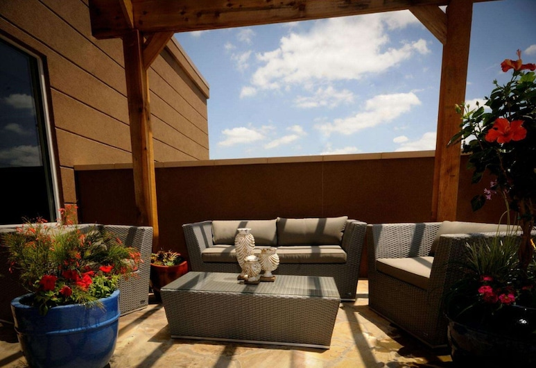 Hampton Inn & Suites Houston Heights I-10, Хьюстон, Терраса/ патио