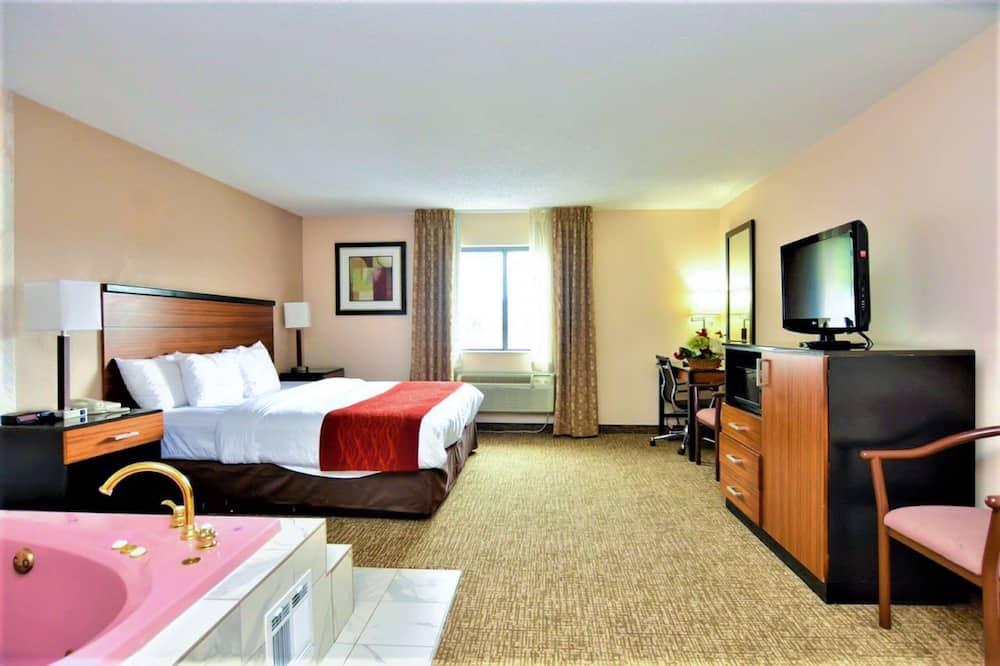 חדר, מיטת קינג, נגישות לנכים, ללא עישון - חדר אורחים