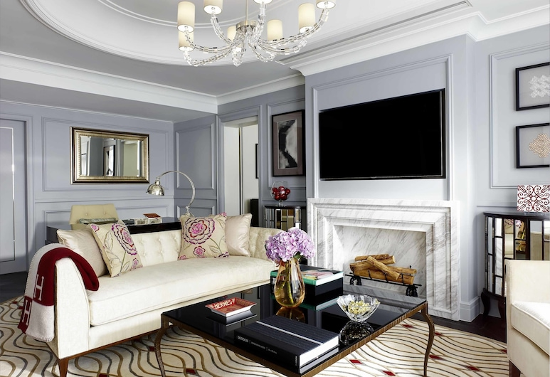 The Langham, Hong Kong, Kowloon, Chairman Suite, Living Room