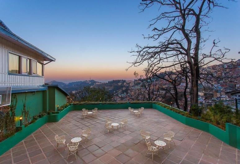 Clarkes hotel, A grand heritage hotel since 1898, Shimla, Terrace/Patio