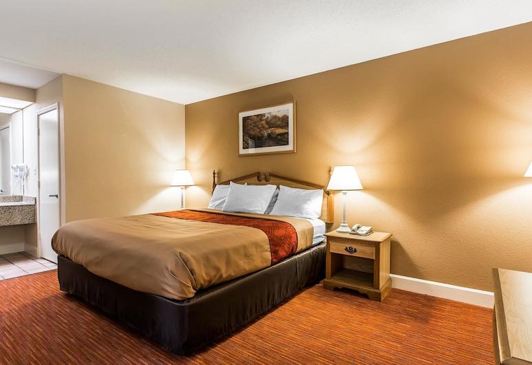Econo Lodge Inn & Suites, Huntsville, Standardzimmer, 1King-Bett, Raucher, Zimmer