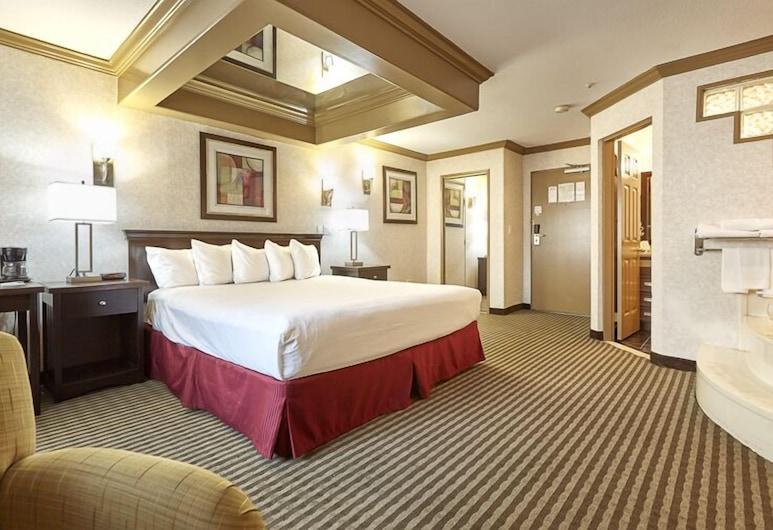 Ramada by Wyndham Abbotsford, Abotsfordas, Numeris jaunavedžiams, 1 labai didelė dvigulė lova, Nerūkantiesiems, Sūkurinė vonia