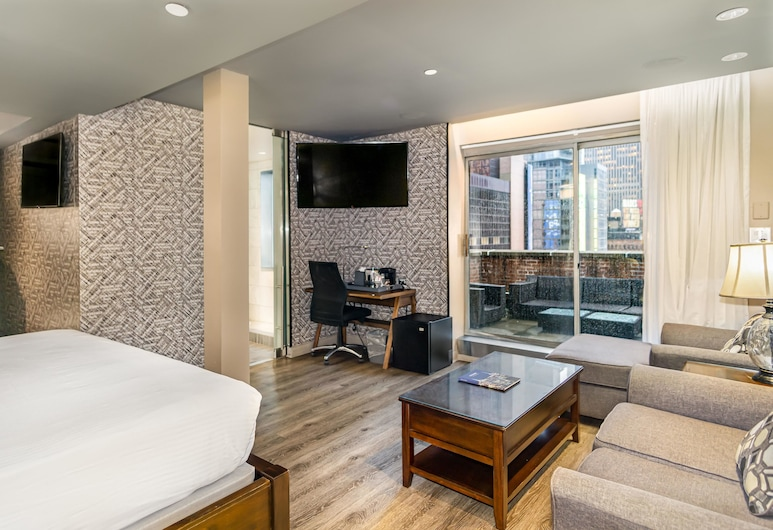 The Gallivant Times Square , New York, Junior Penthouse (2), Guest Room