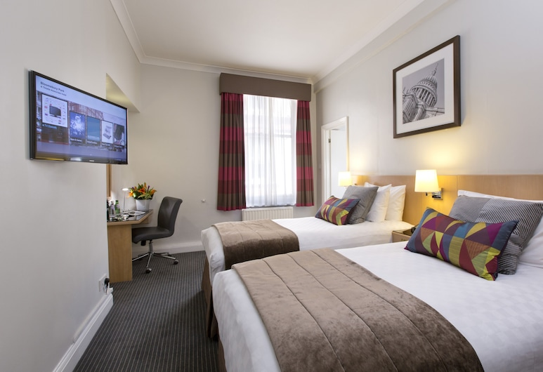 Thistle Bloomsbury Park, London, Twin Room, Guest Room