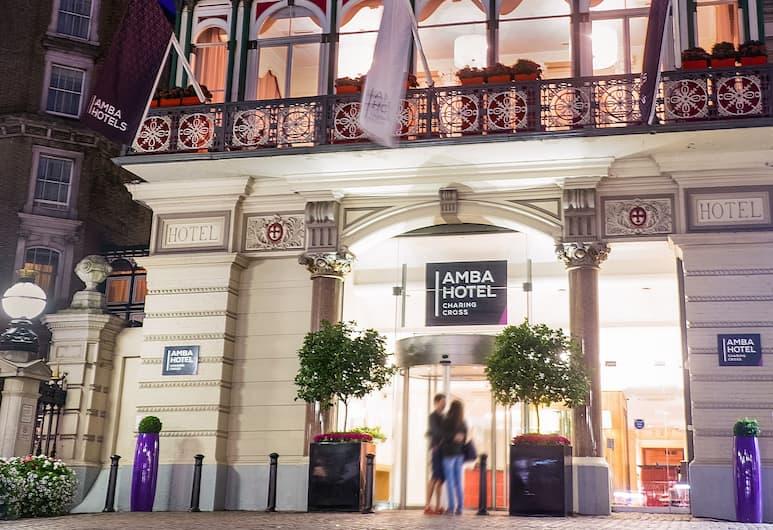 Amba Hotel Charing Cross, London, Hotel Front