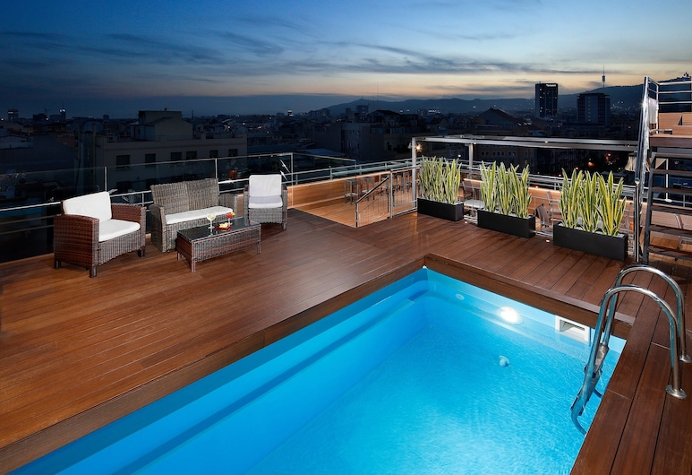 Hotel HCC Regente, Barcelona, Piscina