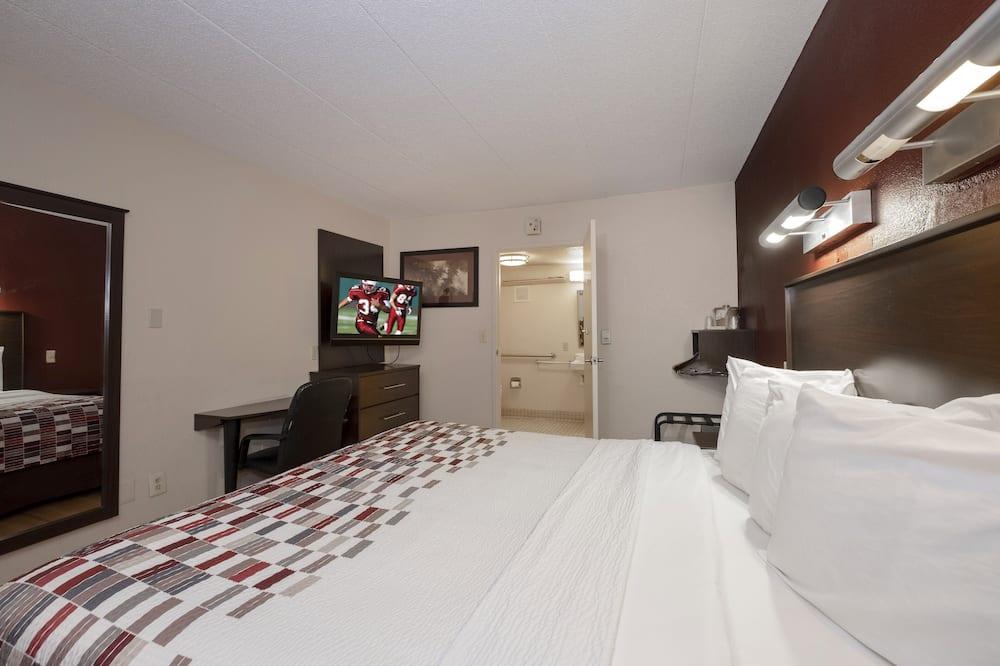 標準客房, 1 張特大雙人床, 無障礙 (Smoke Free) - 客房