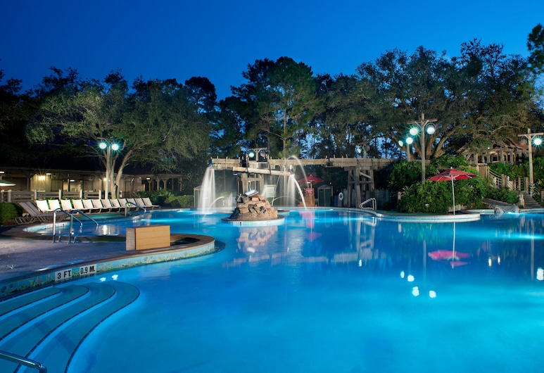 Disney's Port Orleans Resort - Riverside, Lago Buena Vista, Piscina Exterior