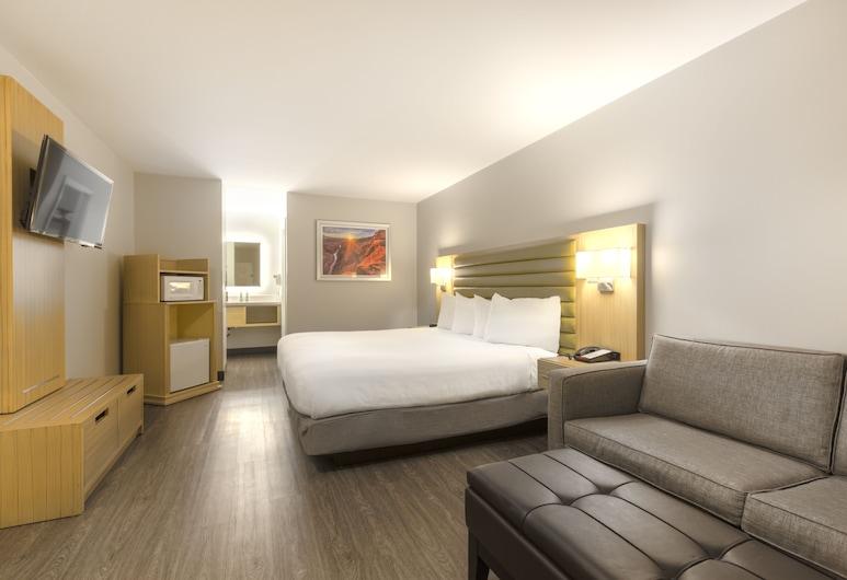 GreenTree Inn Flagstaff, Flagstaff, Standardzimmer, 1King-Bett, barrierefrei, Zimmer