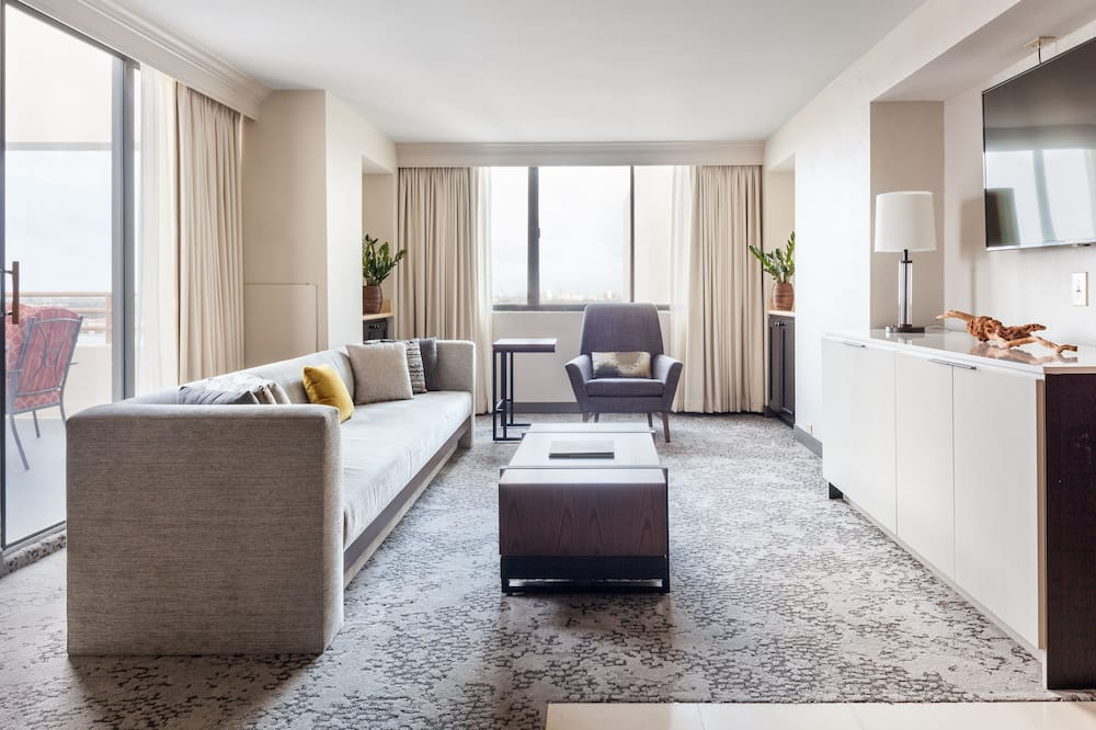 Suite, 1 soverom, ikke-røyk - Oppholdsområde
