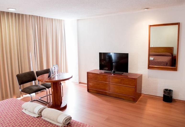 Hotel San Francisco Centro Histórico, Mexiko-Stadt, Traditional-Doppelzimmer, 1 Doppelbett, Zimmer