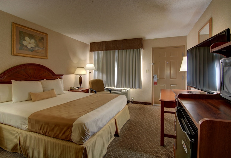 Ramada by Wyndham Macon, Macon, Room, 1 King Bed, Non Smoking, Guest Room