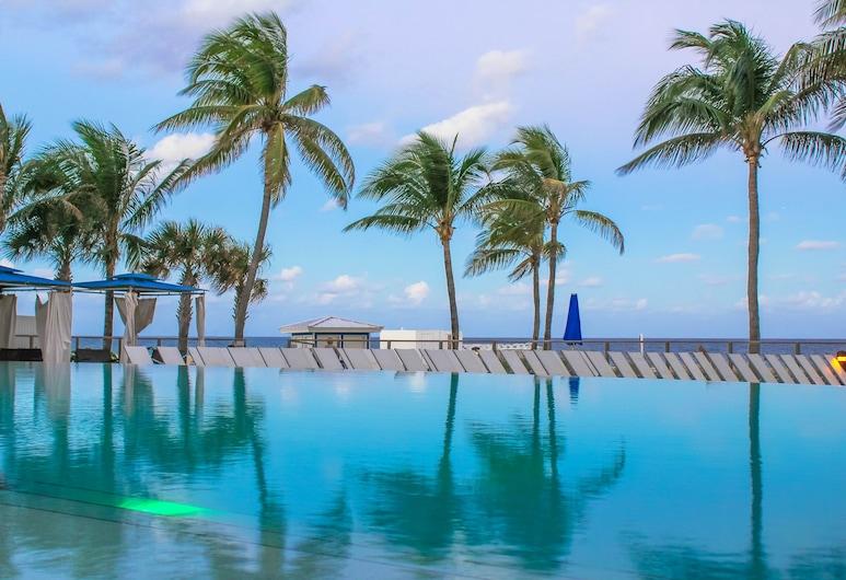 B Ocean Resort, Fort Lauderdale, Utendørsbasseng