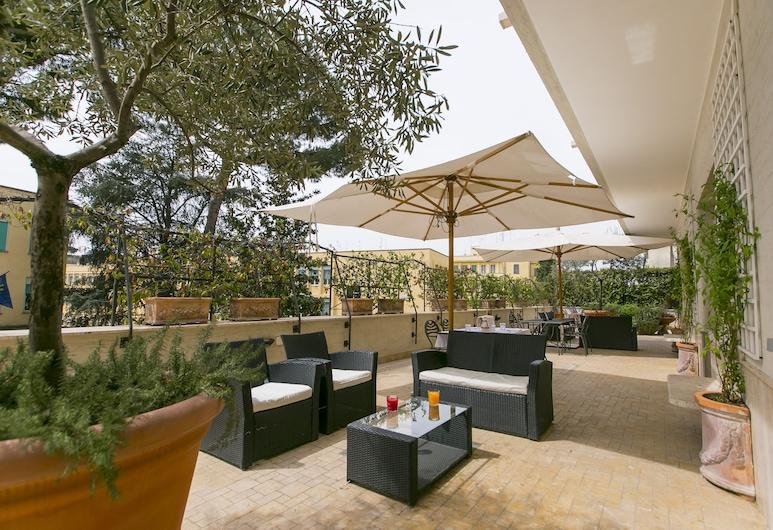 Best Western Hotel Rivoli, Rim, Terasa/trijem