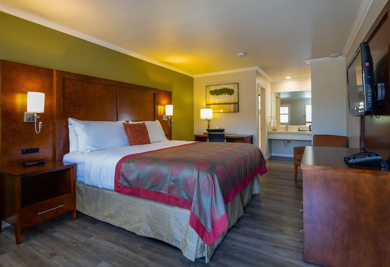 Ramada by Wyndham Mountain View, Mountain View, Soba, 1 king size krevet, pristup za osobe s invalidnošću, za nepušače (Mobility Accessible), Soba za goste
