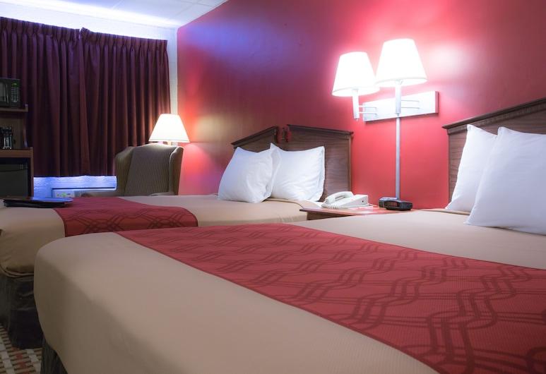 Econo Lodge, ויליאמספורט, חדר סטנדרט, 2 מיטות זוגיות, ללא עישון, חדר אורחים