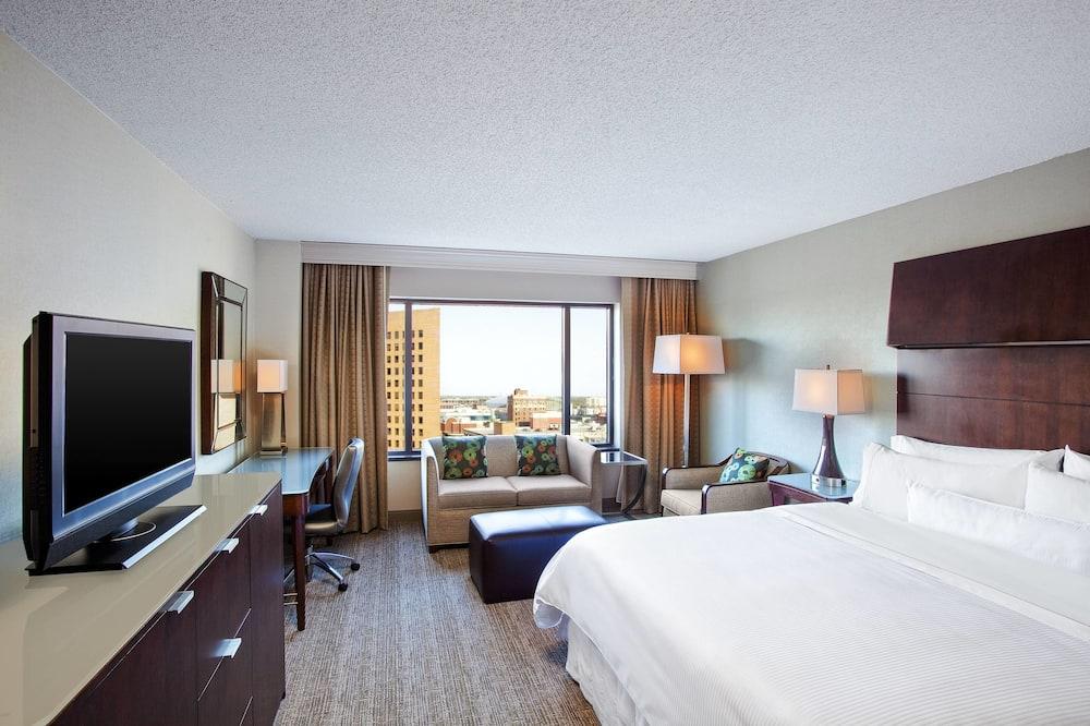 ห้องดีลักซ์, เตียงคิงไซส์ 1 เตียง, ปลอดบุหรี่, เห็นวิว - วิวเมือง